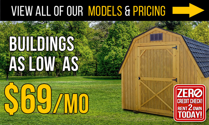 Rent To Own Sheds in Mansfield, PA - Wellsboro Sheds